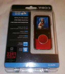 "Coby 4GB Go Video MP3 Player MP620-4G w/ FM Radio 1.8"" Color"