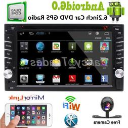 "6.2"" GPS Navigation 2Din Car Stereo DVD CD Player Bluetooth"