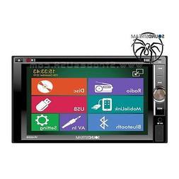 "SoundStream 6.2"" Touchscreen In-Dash 2-DIN Multimedia DVD Pl"