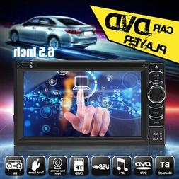 6.5'' Android Radio 2DIN Touch Screen Bluetooth Car Stereo D
