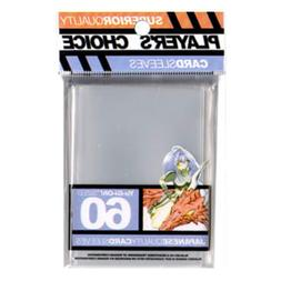 Players Choice 60 Count Clear Yugioh Small Deck Protector Ca