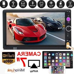 "7"" 2Din 1080P Touchable Stereo Car MP5 Player In-Dash Androi"