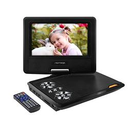 APEMAN 7.5'' Portable DVD Player for Kids and Car Swivel Scr