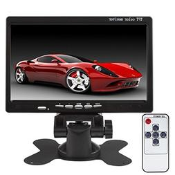 SallyBest® 7'' HD 800*480 TFT Color LCD Screen 2 Video Inpu