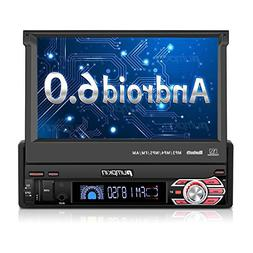 """7"""" Android 6.0 Car Stereo - 1 Din In Dash Bluetooth Radio"""