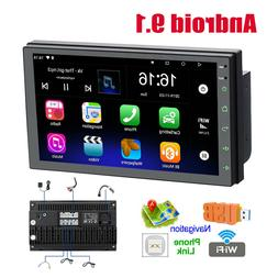 7'' Android 9.1 2 Din Touch Car MP5 Player Stereo FM Radio W