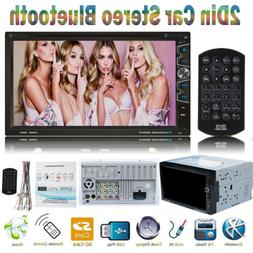 "7""Car Stereo CarPlay Autoradio DVD Player Radio Touch Screen"