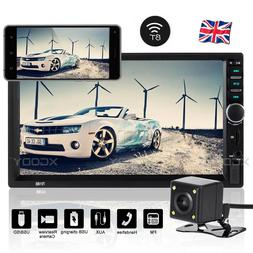 """7"""" Double 2 DIN Car MP5 MP3 Player Bluetooth Touch Screen St"""