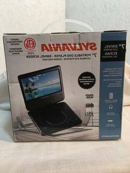 Sylvania 7 inch Swivel Portable DVD Player