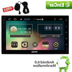 "7"" Eincar Stereo Double 2DIN Android 6.0 Car GPS Radio Playe"