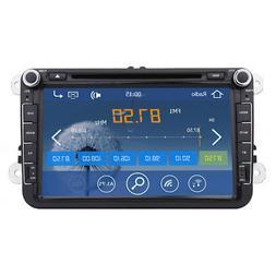 "8"" 2Din GPS Navi Car Stereo Radio DVD Player For VW PASSAT S"