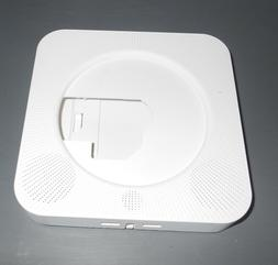 808 white wall mounted cd player plastic