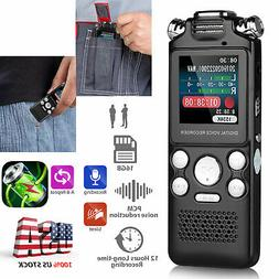 8GB/16GB LCD Activated Digital Voice Recorder Audio Recorder