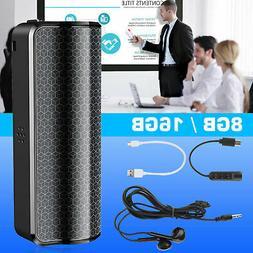 8GB/16GB MP3 Magnetic Recording Device Voice Activated Mini