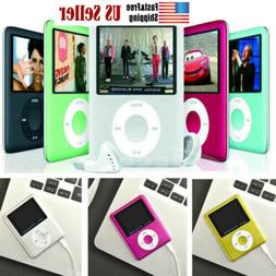 "8GB-32GB Digital MP3 MP4 Player 1.8"" LCD Screen Video Game M"