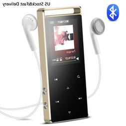 AGPTEK 8GB Bluetooth MP3 Player Touch Button with FM/ Voice