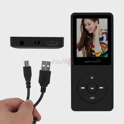 8GB LCD Portable Audio MP3/MP4 Music AVI Player with Voice R
