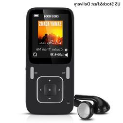 AGPTEK 8GB MP3 Player with FM Radio and Voice Recorder Suppo