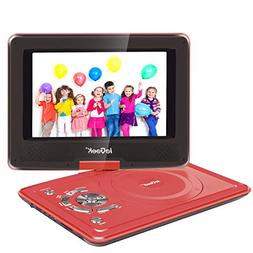 ieGeek 9.5'' Portable DVD Player with 5 Hour Rechargeable Ba