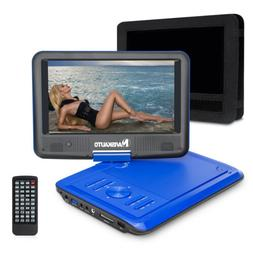 "9"" Portable DVD/CD Player 270° Swivel Screen with Battery +"