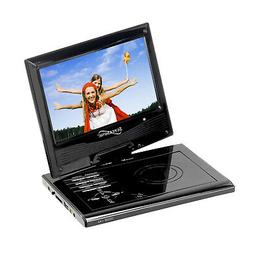 Supersonic 9 in. Portable DVD Player with Swivel Display