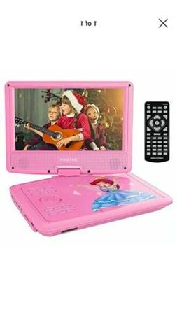 """DBPOWER 9"""" Portable DVD Player for Kids Swivel Screen 3 Hour"""