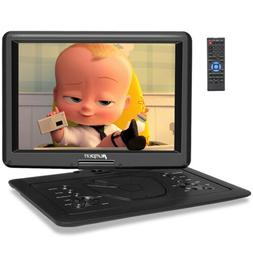"9"" TFT Portable DVD Player w Car Headrest Mount Holder USB S"