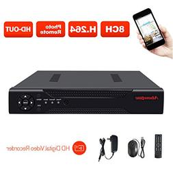 ABOWONE 8CH 1080P DVR Digital Video Recorder Network HD Vide