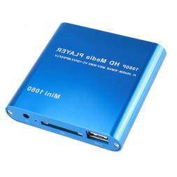 AGPtEK Mini 1080P Full HD Digital Media Player - MKV/ RM-SD/