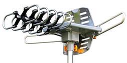 Amplified HD Digital Outdoor HDTV Antenna 150 Miles Long Ran