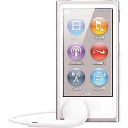 Apple MD480LL/CALI Ipod Nano 7th Generation 16 GB Silver Wit