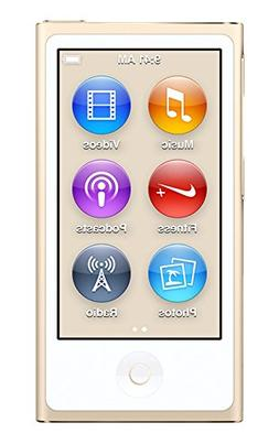Apple iPod Nano, 16GB, Gold