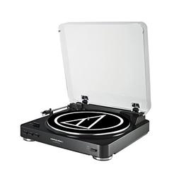 Audio-Technica AT-LP60BK Fully Automatic Belt-Drive Stereo T