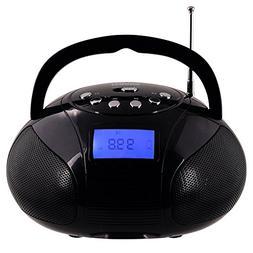 Mini Radio Clock, Bluetooth Speakers MP3 Stereo System Porta