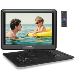BLUE 9 inch Portable DVD Player Monitor Car & Home Use +Moun