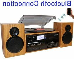 Boytone BT-28SPW, Bluetooth Classic Style Record Player Turn