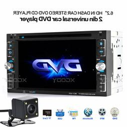 "Car Stereo Radio DVD CD MP5 Player 6.2"" Touch Screen Bluetoo"