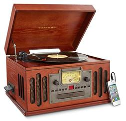 Crosley CR704C-PA Musician Turntable with Radio, CD Player,