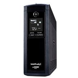 CyberPower  CP1500AVRLCD Intelligent LCD UPS System, 1500VA/