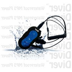 Diver DB-10 4GB Waterproof MP3 Player with Waterproof Earpho