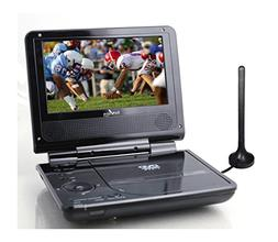 "Envizen Digital ED8850B Duo Box II 7"" Portable DVD & TV Play"