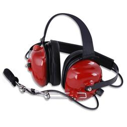 Rugged Radios H42-RED Behind The Head Two-Way Radio Headset