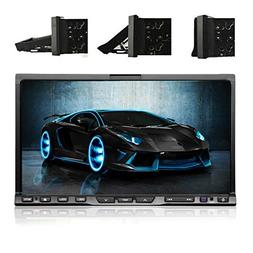 "HD 7"" Car DVD CD Video Player High-quality! 2 Din In Deck Ca"