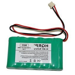 HQRP 2100mAh High Capacity Backup Battery for ADT 300-03866