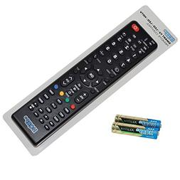 HQRP Remote Control for Panasonic TH-50PX500U TH-50PX600U TH