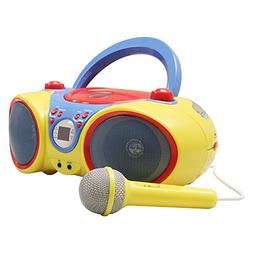 Hamilton Buhl Kids Audio CD Player Karaoke Machine with Micr