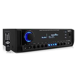 Home Audio Power Amplifier System - 300W 4 Channel Theater P