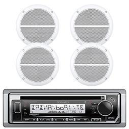 Kenwood Marine Boat Bluetooth CD MP3 Player USB iPod iPhone