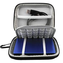 Lacdo EVA Shockproof Carrying Travel Case for Seagate Expans