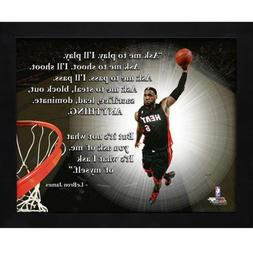 "LeBron James Miami Heat  Framed 11x14 ""Pro Quote"""